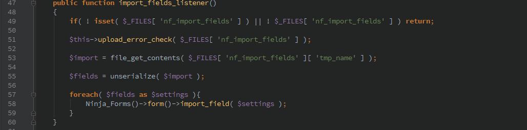 ninjaforms-importfields