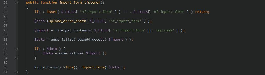 ninjaforms-importform